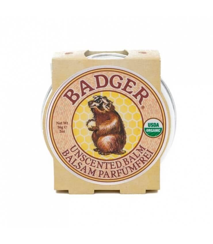Baume sans parfum pour peaux sèches - Badger Balm
