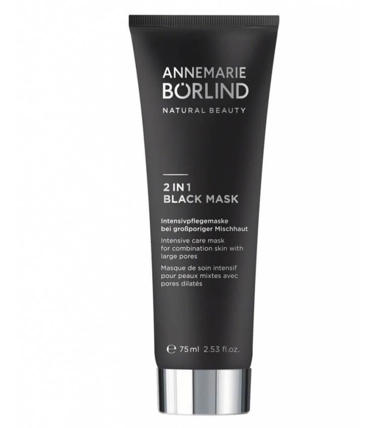 Masque de Beauté 2 en 1 Black Mask - Annemarie Borlïnd