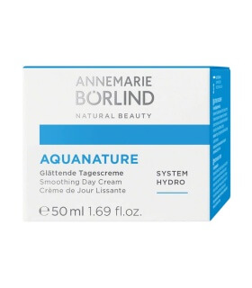 Crème de Jour Lissante Aquanature - Annemarie Borlïnd