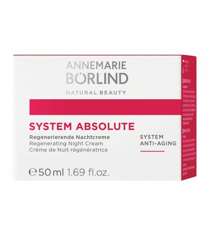 Crème de Nuit Anti-âge System Absolute - Annemarie Borlïnd