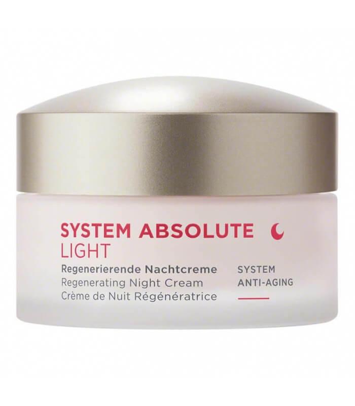 Crème de Nuit Light Anti-âge System Absolute - Annemarie Borlïnd