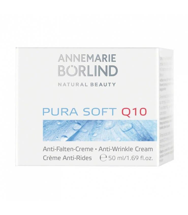 Pura Soft Q10 Crème anti-rides - Annemarie Borlïnd
