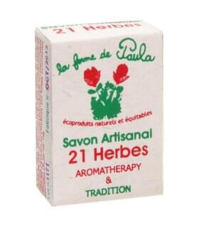 Savon Ayurvédique au 21 herbes - La ferme de Paula