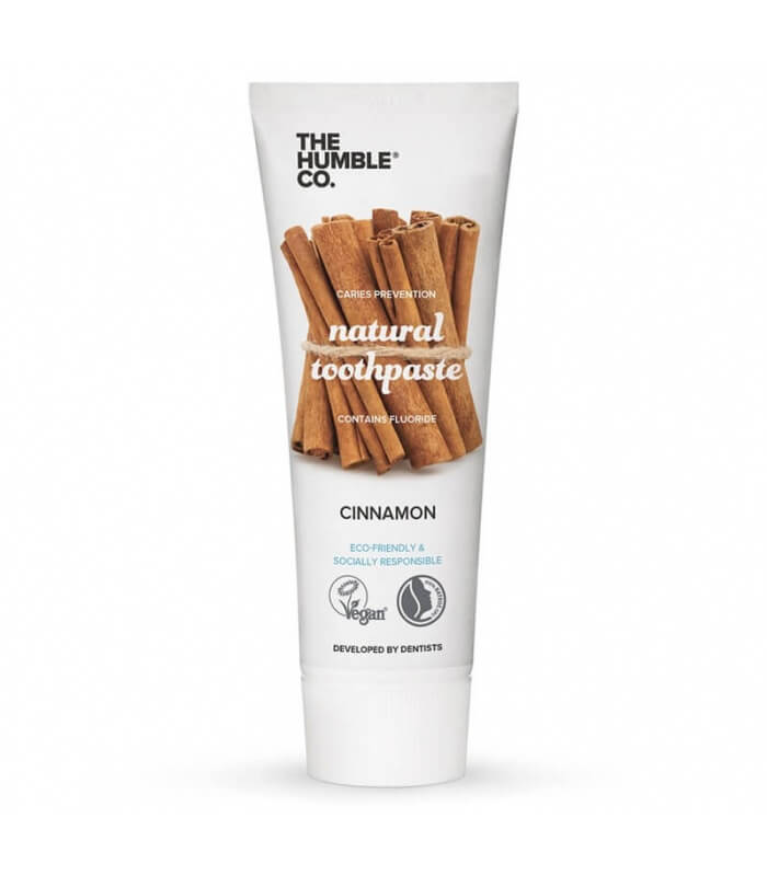 Dentifrice naturel Cannelle - The Humble Co