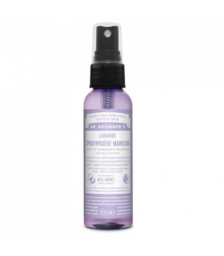 Spray Hygiène Mains Bio Dr bronners