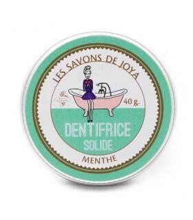 Dentifrice solide à la menthe - Les Savons de Joya