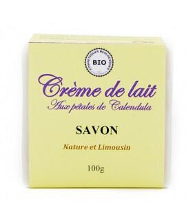 Savon Crème de Lait - Nature et Limousin