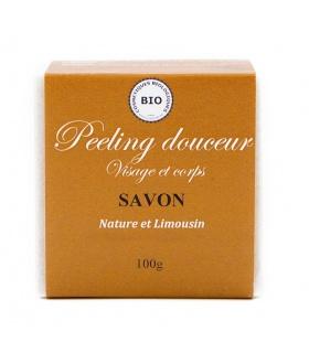 Savon Exfoliant Peeling Douceur - Nature et Limousin