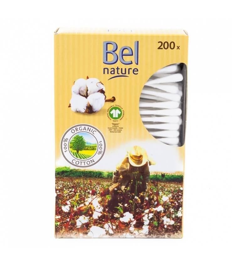200 Cotons-tiges coton Bio et Papier - Bel Nature