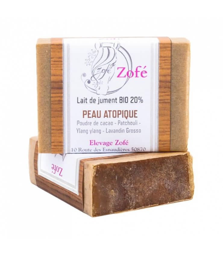 Savon Peau Atopique 20% Lait de Jument - Savonnerie Zofé
