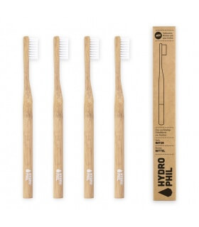 Brosse à dents Bambou Medium naturelle - Hydrophil