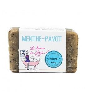 Savon à froid Exfoliant Menthe Pavot - Savons de Joya
