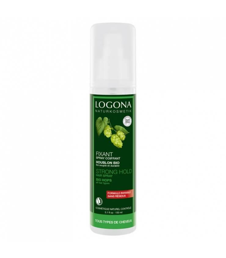 Spray coiffant Fixan, Résines Végétales - Logona