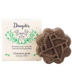 Shampoing solide Cheveux Gras Druydès