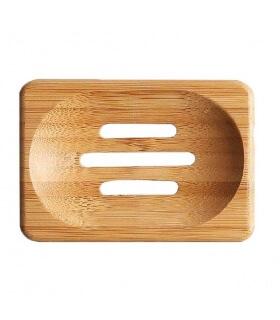 Porte savon en Bambou (Plat) pour savons SAF
