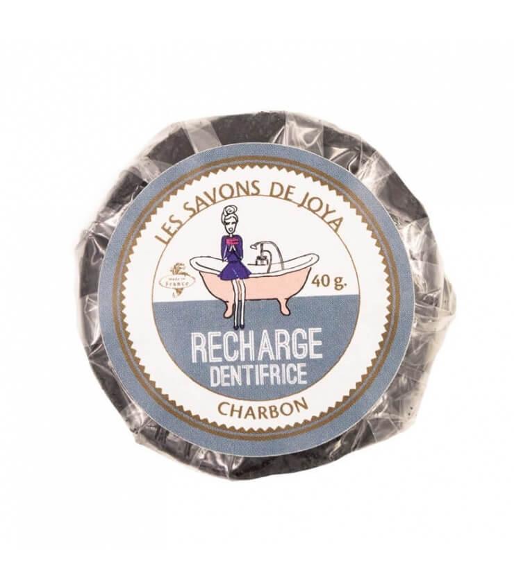 Recharge Dentifrice solide au Charbon - Savons de Joya