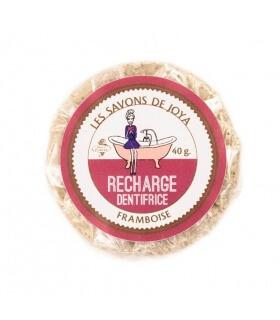 Recharge Dentifrice solide à la Framboise - Les savons de Joya