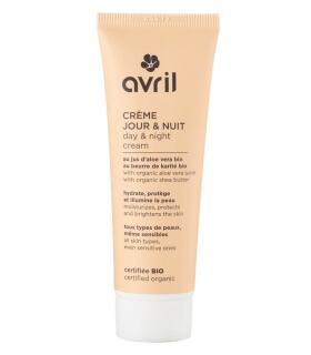 Crème de Jour et Nuit Bio - Avril cosmétique Bio
