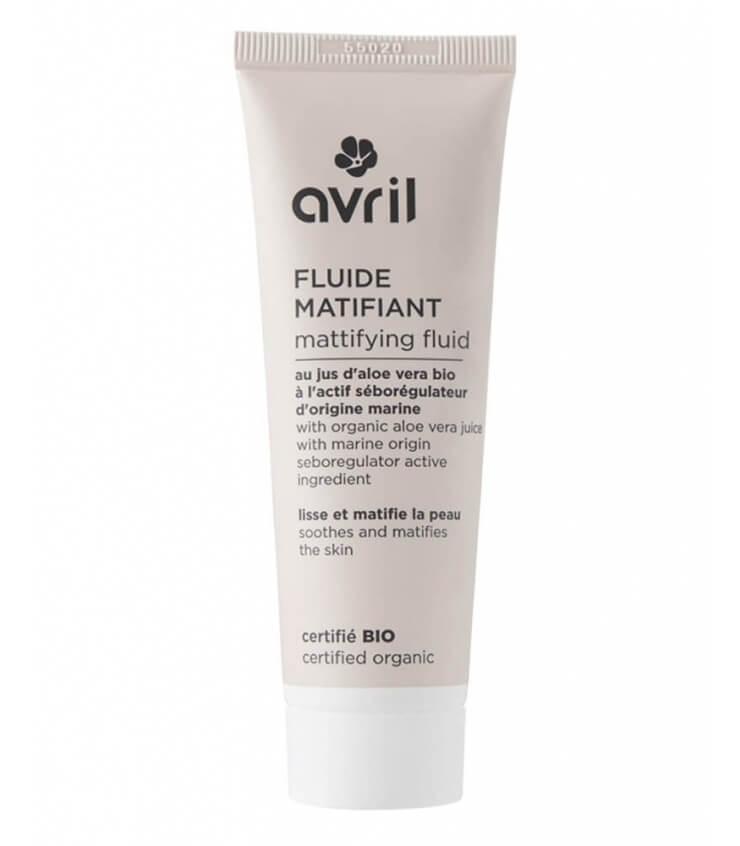 Fluide Matifiant Visage Bio - Avril cosmétique Bio Avril