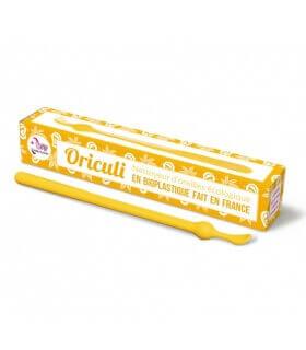 Oriculi en Bioplastique fabriqué en France jaune Lamazuna