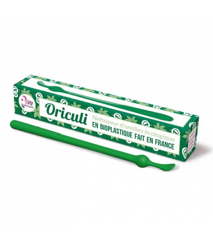 Oriculi en Bioplastique fabriqué en France vert Lamazuna