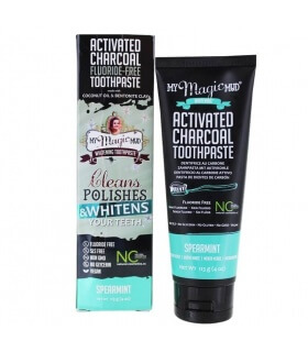 Dentifrice blanchissant Charbon & Menthe Verte - My Magic Mud