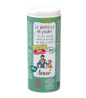 Dentifrice en Poudre Menthol Extra-Frais - Anae