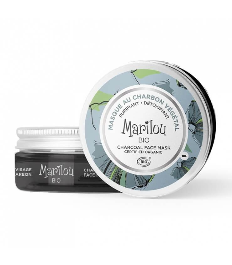 Masque au Charbon Végétal - Marilou Bio
