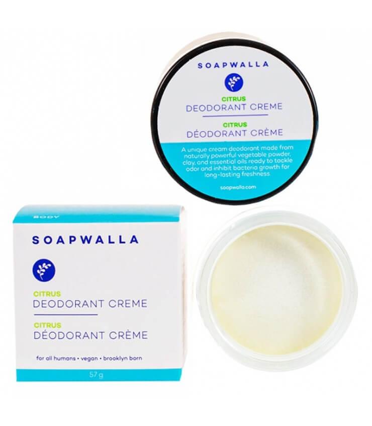 Déodorant Crème Naturel Citrus Soapwalla