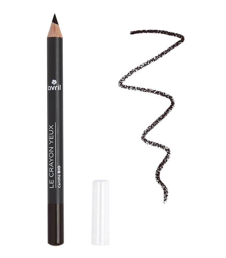Crayon Yeux Certifié bio Noir charbon - Avril Cosmétique
