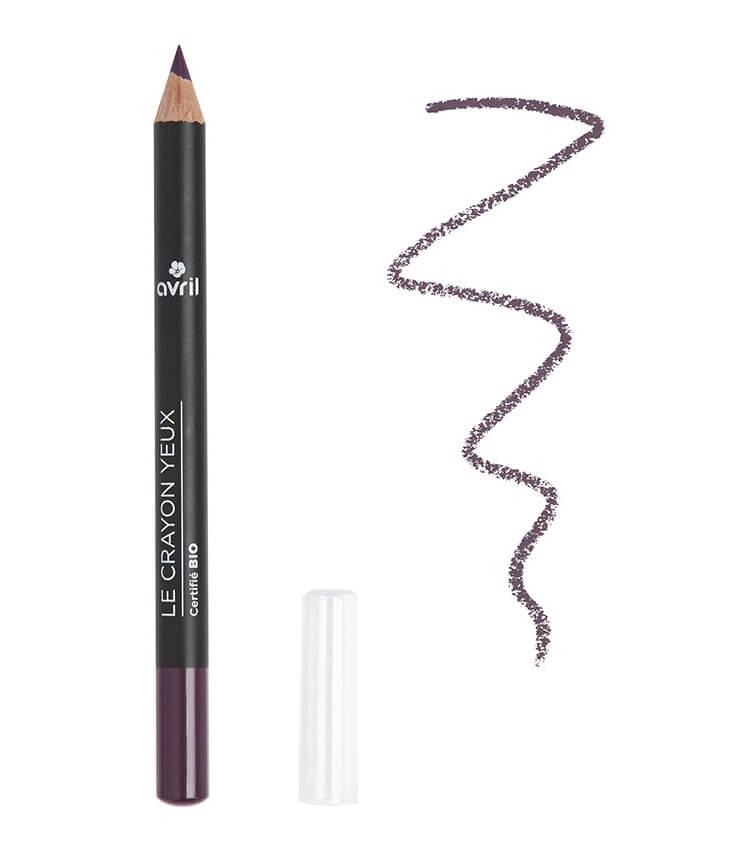 Crayon Yeux Certifié bio Prune - Avril Cosmétique