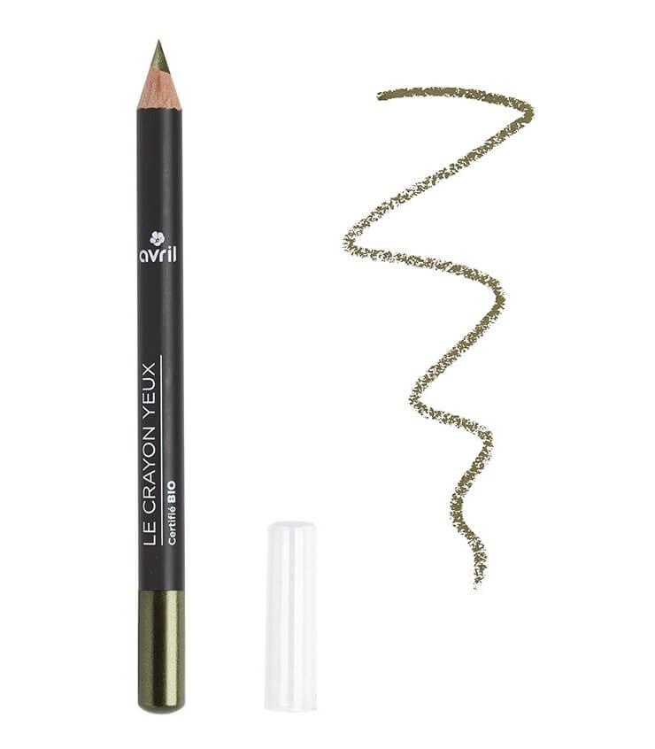 Crayon Yeux Certifié bio Vert Camouflage - Avril Cosmétique