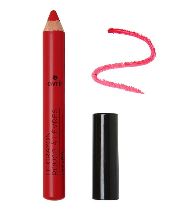 Crayon rouge à lèvres Certifié bio Griotte - Avril Cosmétique