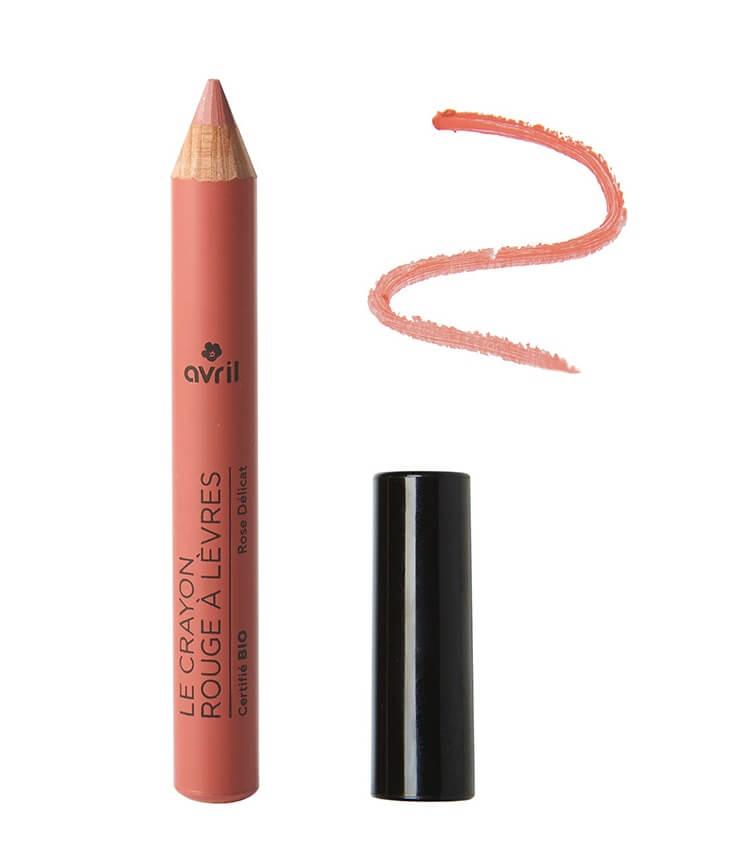 Crayon rouge à lèvres Certifié bio Rose délicat - Avril Cosmétique