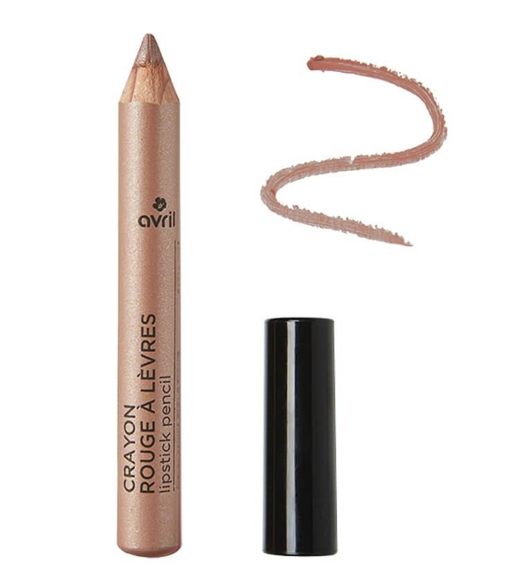 Crayon rouge à lèvres Certifié bio Sable Rosé - Avril Cosmétique