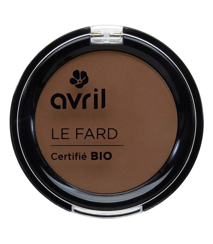 Fard à paupières Certifié bio - Cannelle Mat - Avril cosmétique