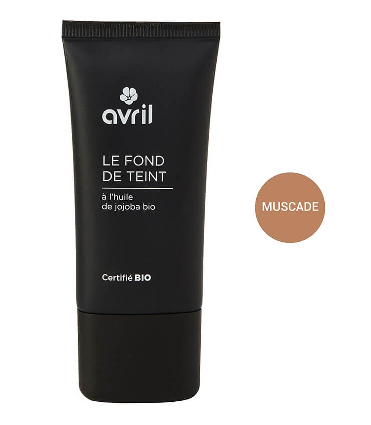 Fond de teint Certifié bio - Muscade - Maquillage Bio Avril