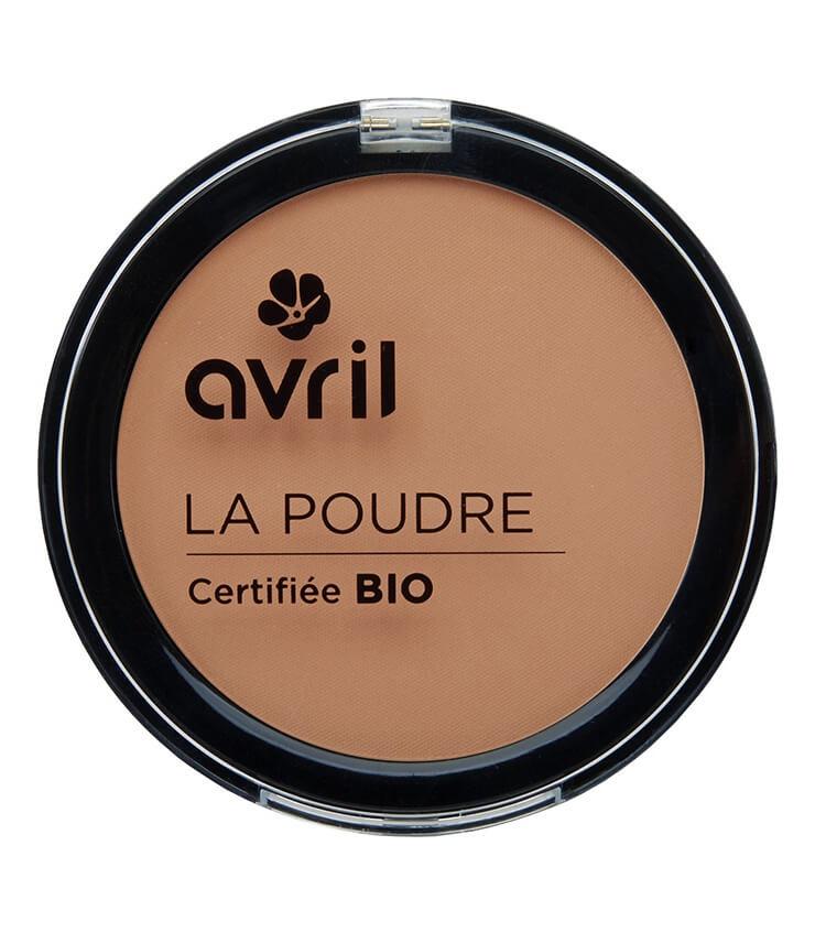 Poudre compacte Abricot Certifiée bio - Maquillage Avril