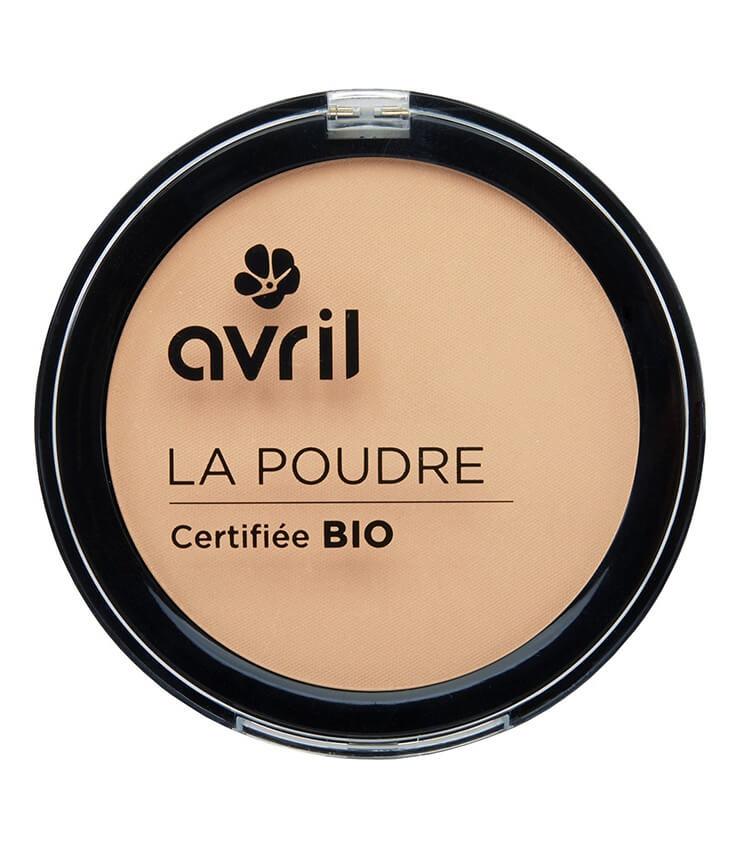 Poudre compacte Claire Certifiée bio - Maquillage Avril