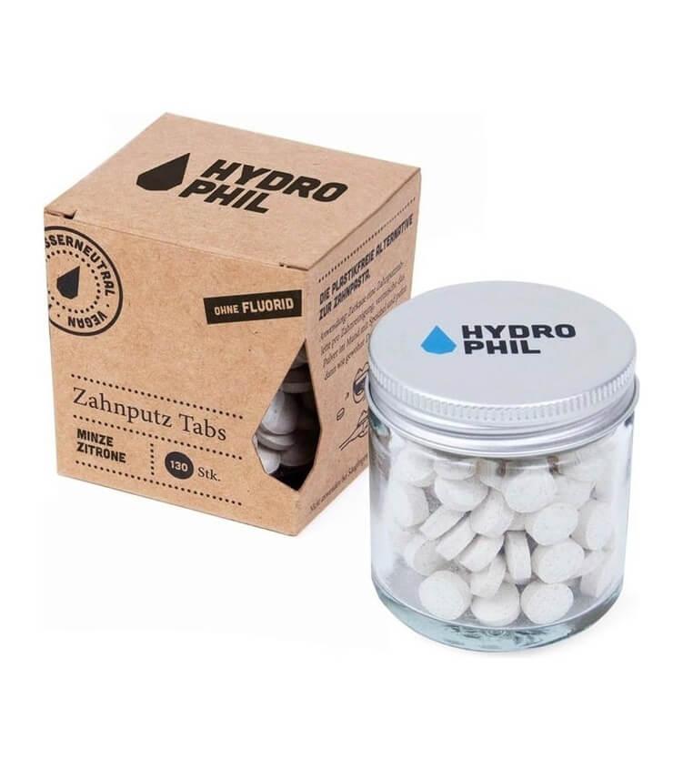 Dentifrice à croquer Menthe citron Bio - Hydrophil