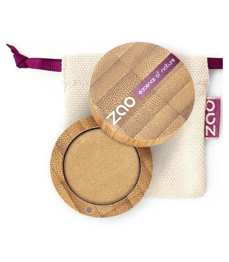 Fard à paupière Bio et Vegan - 124 Or - Zao Make-up