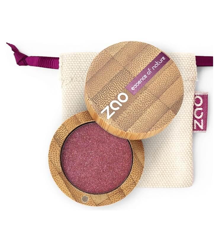 Fard à paupière Bio et Vegan - 115 Rubis - Zao Make-up