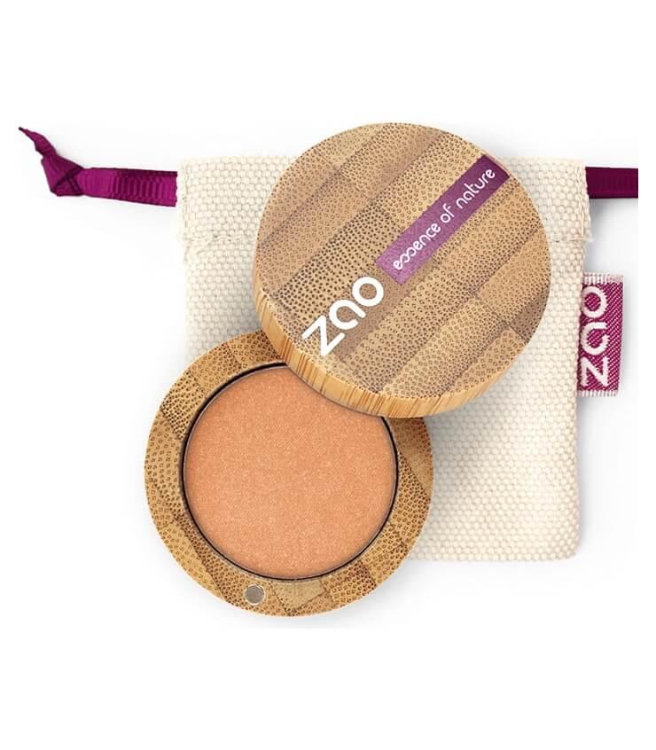 Fard à paupière Bio et Vegan - 113 Or Cuivre - Zao Make-up