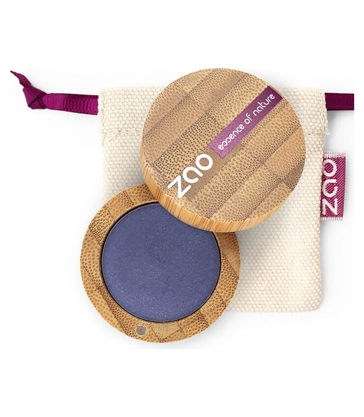 Fard à paupière Bio et Vegan - 112 Bleu Saphir - Zao Make-up