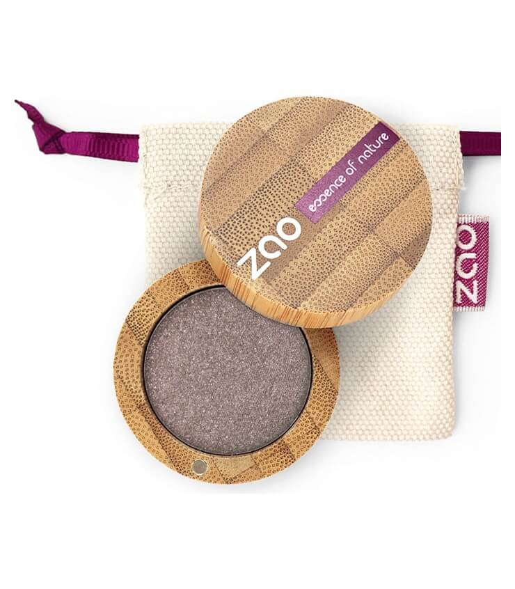 Fard à paupière Bio et Vegan - 107 Brun Gris - Zao Make-up