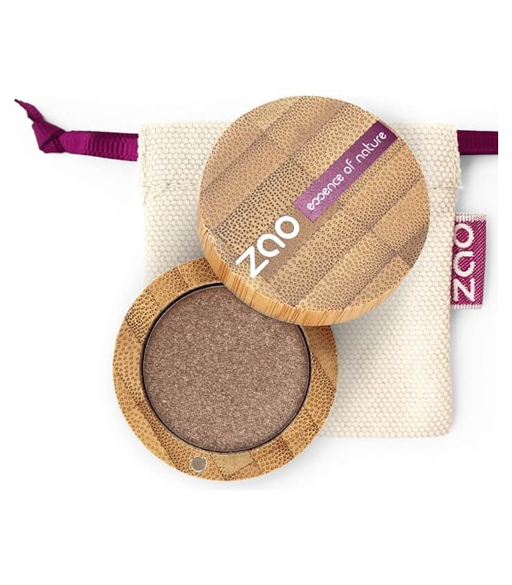 Fard à paupière Bio et Vegan - 106 Bronze - Zao Make-up
