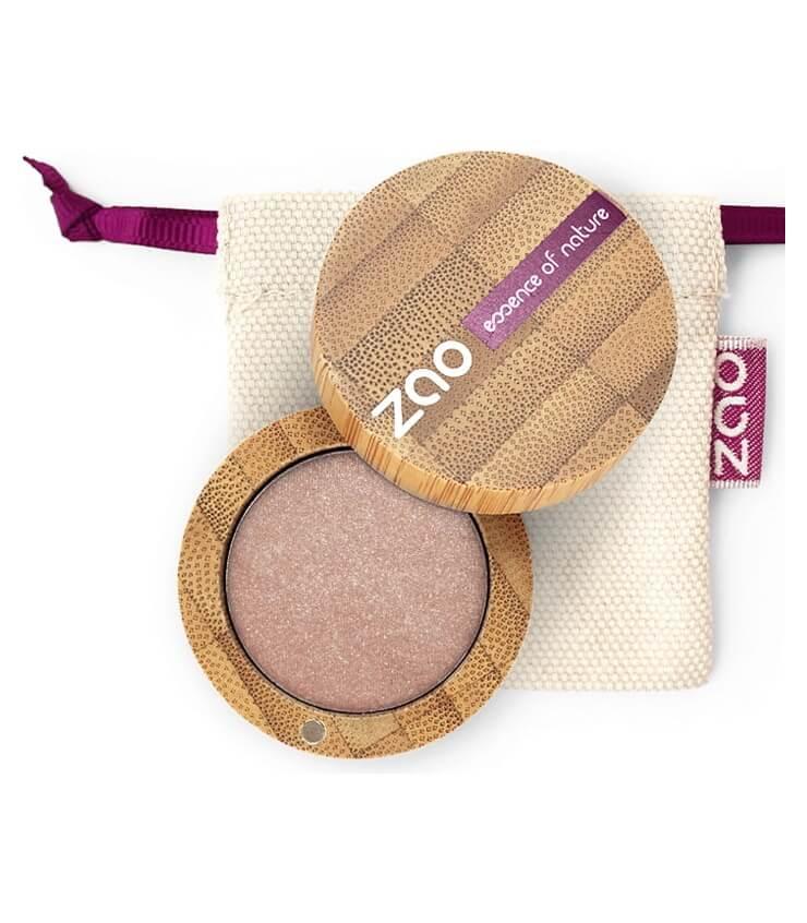 Fard à paupière Bio et Vegan - 105 Sable Doré - Zao Make-up
