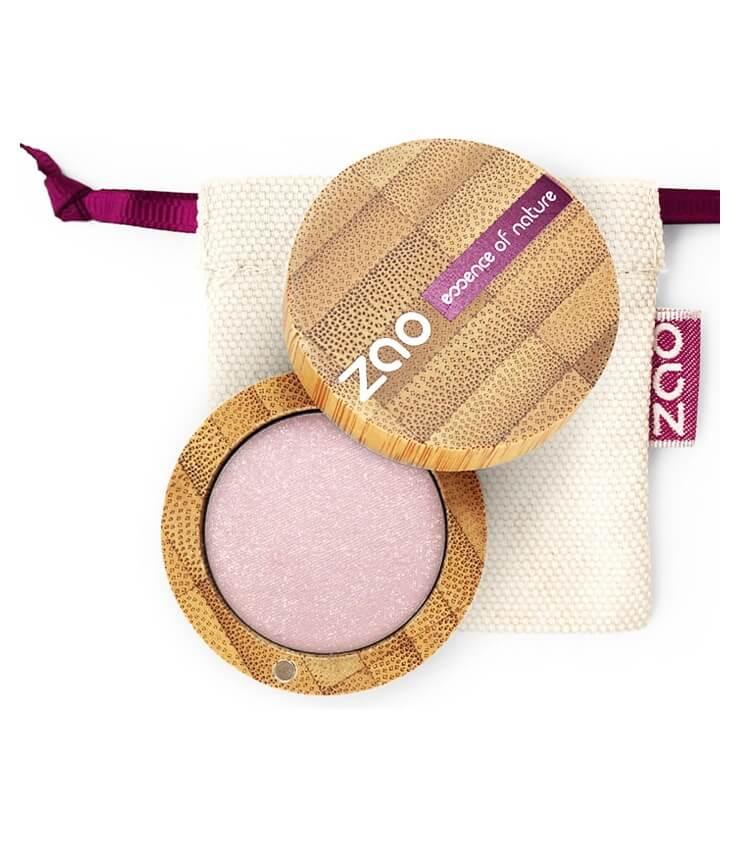 Fard à paupière Bio et Vegan - 102 Beige Rose - Zao Make-up