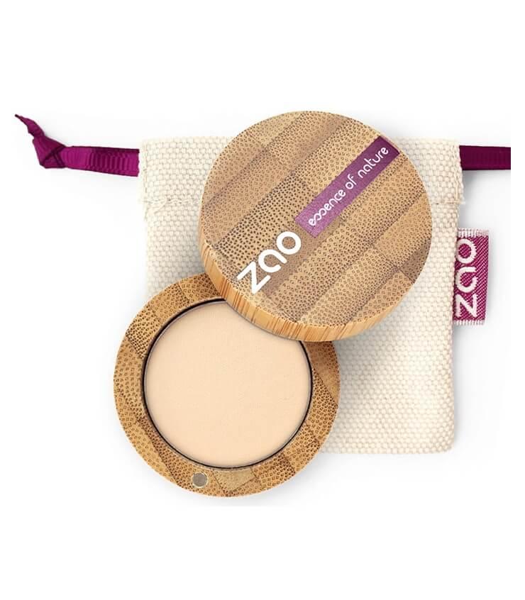 Fard à paupière Mat Bio Vegan - 201 Ivoire - Zao Makeup