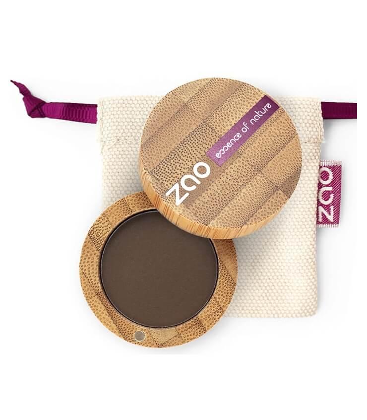Fard à paupière Mat Bio Vegan - 203 brun foncé - Zao Makeup